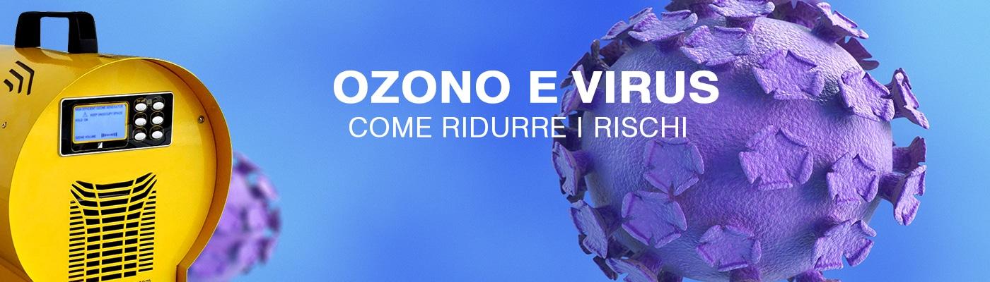 Virus - Prevenzione e soluzione con l'ozono