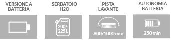 Caratteristiche principali lavapavimenti professionale